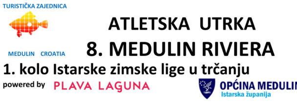 Utrka 8. Medulin Riviera / 1. kolo Istarske zimske lige, 4.11.2018.